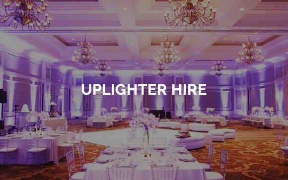 Uplighter hire and venue uplighting in Kent, Surrey, Sussex & London