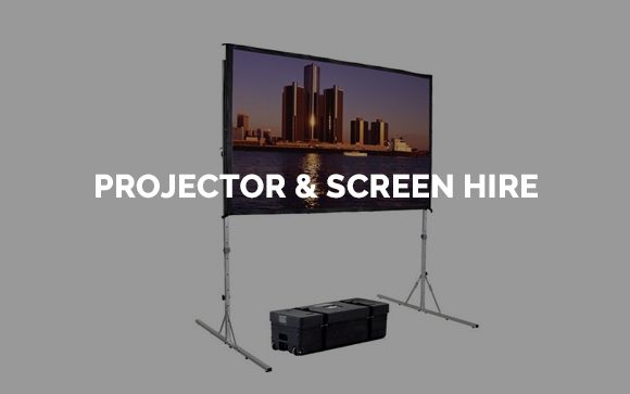 Projector and projector screen hire in Kent, Surrey, Sussex & London