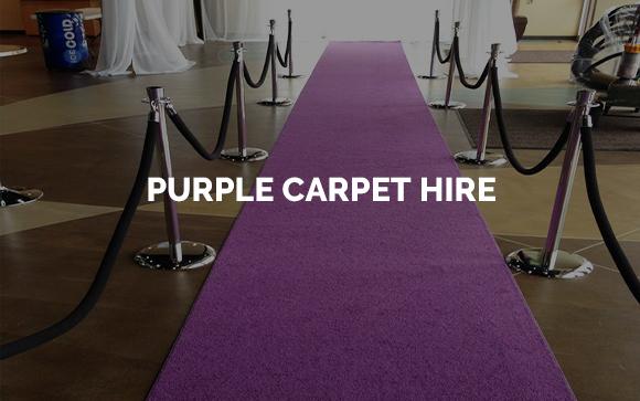 Purple carpet hire London, Kent, Surrey, Sussex & Essex