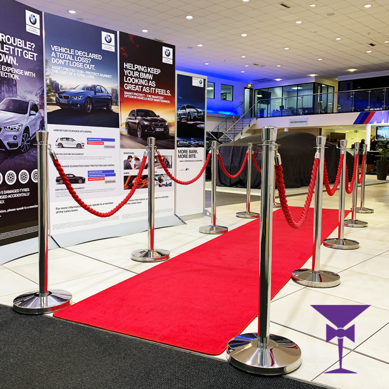 VIP 5 metre red carpet hire