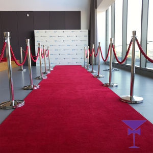 Luxury 10 Metre Red Carpet Package Hire