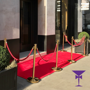 Luxury 4 Metre Red Carpet Hire London, Kent, Surrey, Sussex & Essex