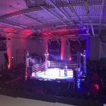 Entertainment in action - boxing event production