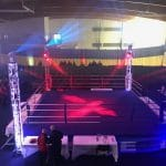 Lighting programming & design for boxing show