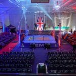 Lighting design & production-Royal army boxing