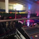 Technical support for boxing show