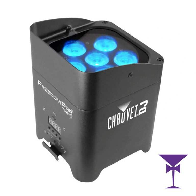 Chauvet Freedom Par Wireless Uplighter Hire Kent, Surrey, Sussex, London & Essex