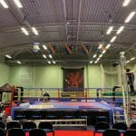 Boxing Show During Setup