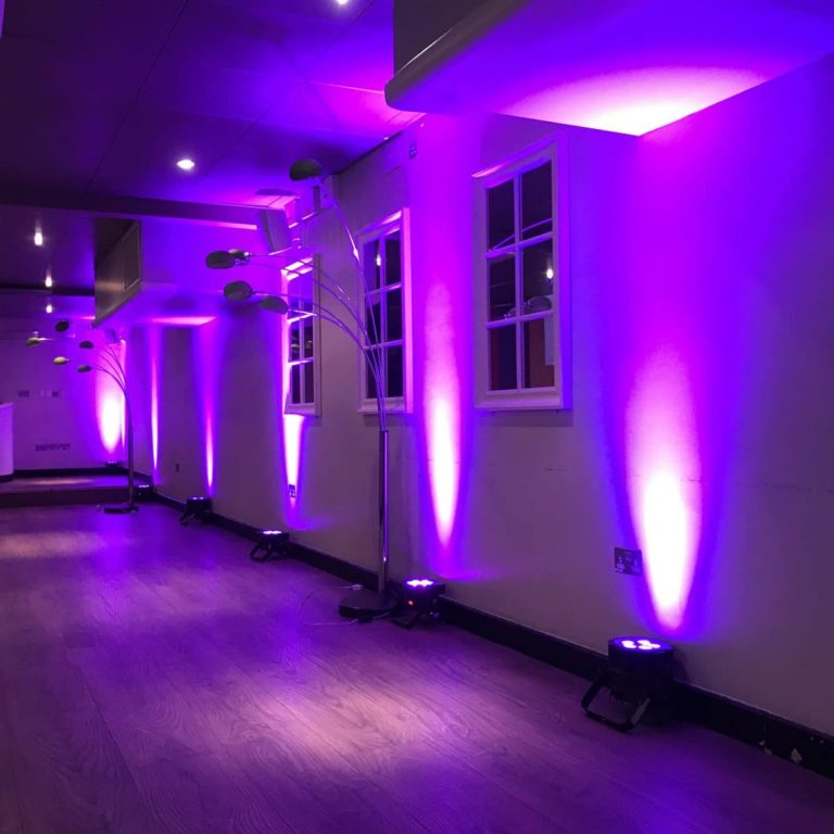 Wired Uplighter Hire London, Kent, Surrey, Sussex & Essex