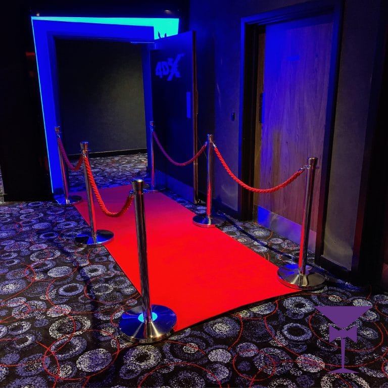 3 Metre Red Carpet Rental London