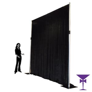 3 Metre Blackout Drape Hire London, Kent, Surrey, Sussex