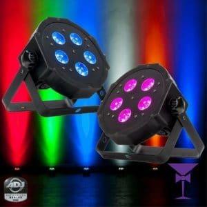 ADJ Mega Par Wired Uplighter Hire
