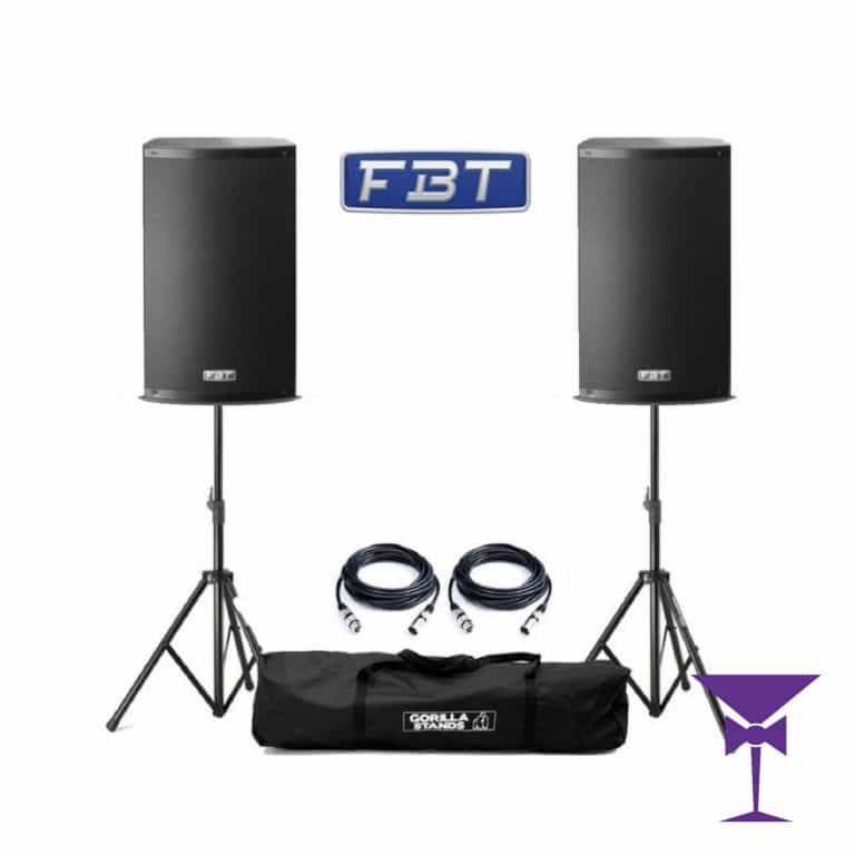 FBT Active Speaker Hire Kent, Surrey & Sussex.