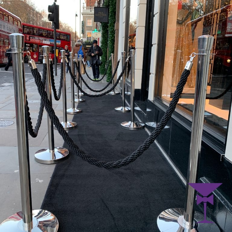 Black Carpet Hire in Chelsea, Fulham and London