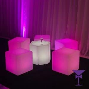 LED Table Hire London, Kent, Surrey & Sussex