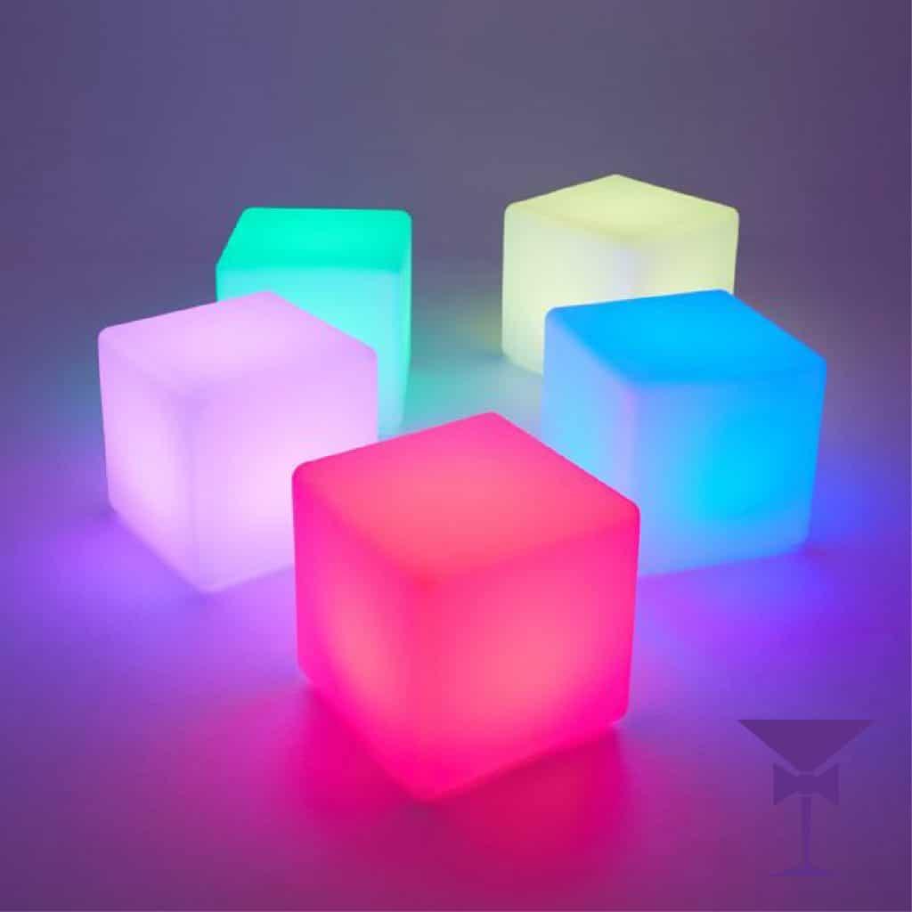LED Cube Seat Hire