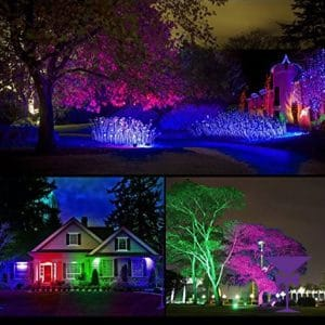 Outdoor LED Uplighter Hire