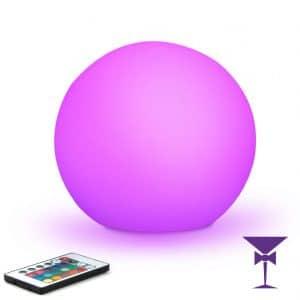 LED Globe - Illuminated Sphere Hire