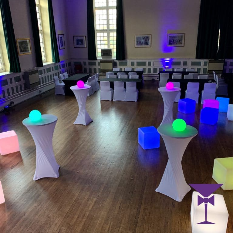 Poseur Table Hire Kent, Surrey & Sussex