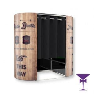 Rustic Photo Booth Hire Kent, Surrey, Sussex & London