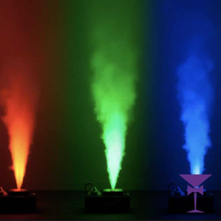 Vertical Smoke Machine With LED's