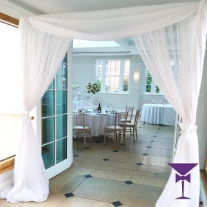 Voile Door Drapes Hire