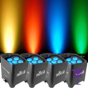 Wireless uplighter hire London & Kent