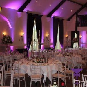 Chiavari chairs at wedding in Kent