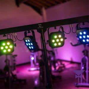 DJ & Disco lighting Hire Kent, Surrey & Sussex.