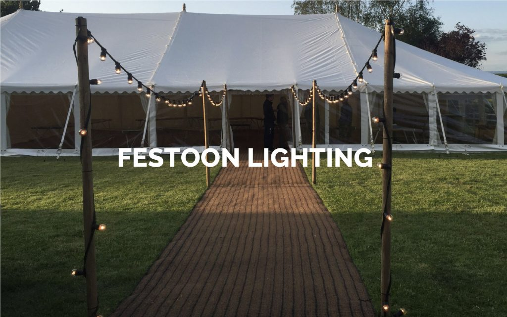 Festoon Lighting Hire in Kent, Surrey & Sussex