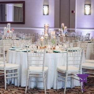 White Limewash Chiavari Chair Hire Kent, Surrey & Sussex