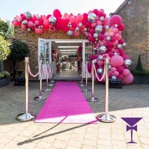 Pink Carpet Hire London, Surrey, Kent, Sussex & Essex