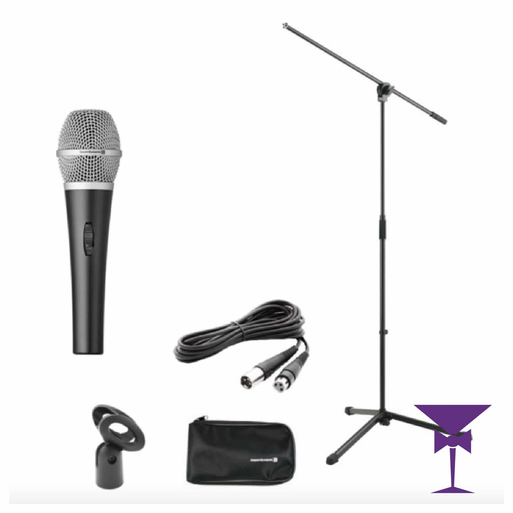 Wired Microphone Hire London & Kent