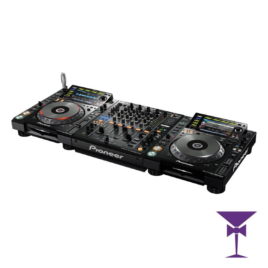 CDJ 2000 & DJM 900 Nexus Package Hire