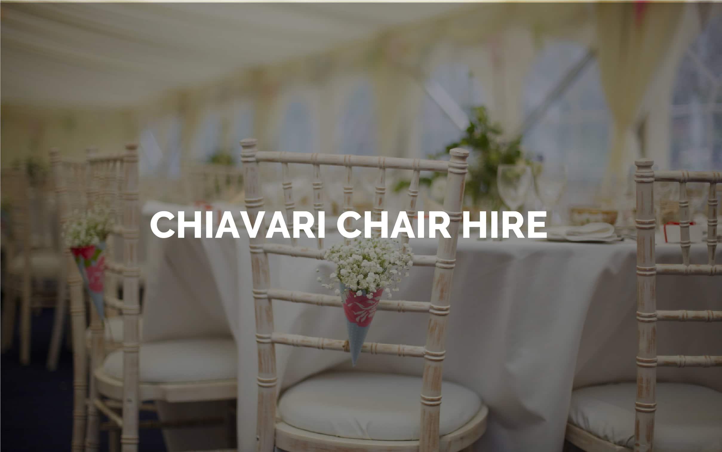 Chiavari Chair Hire For Weddings And Events