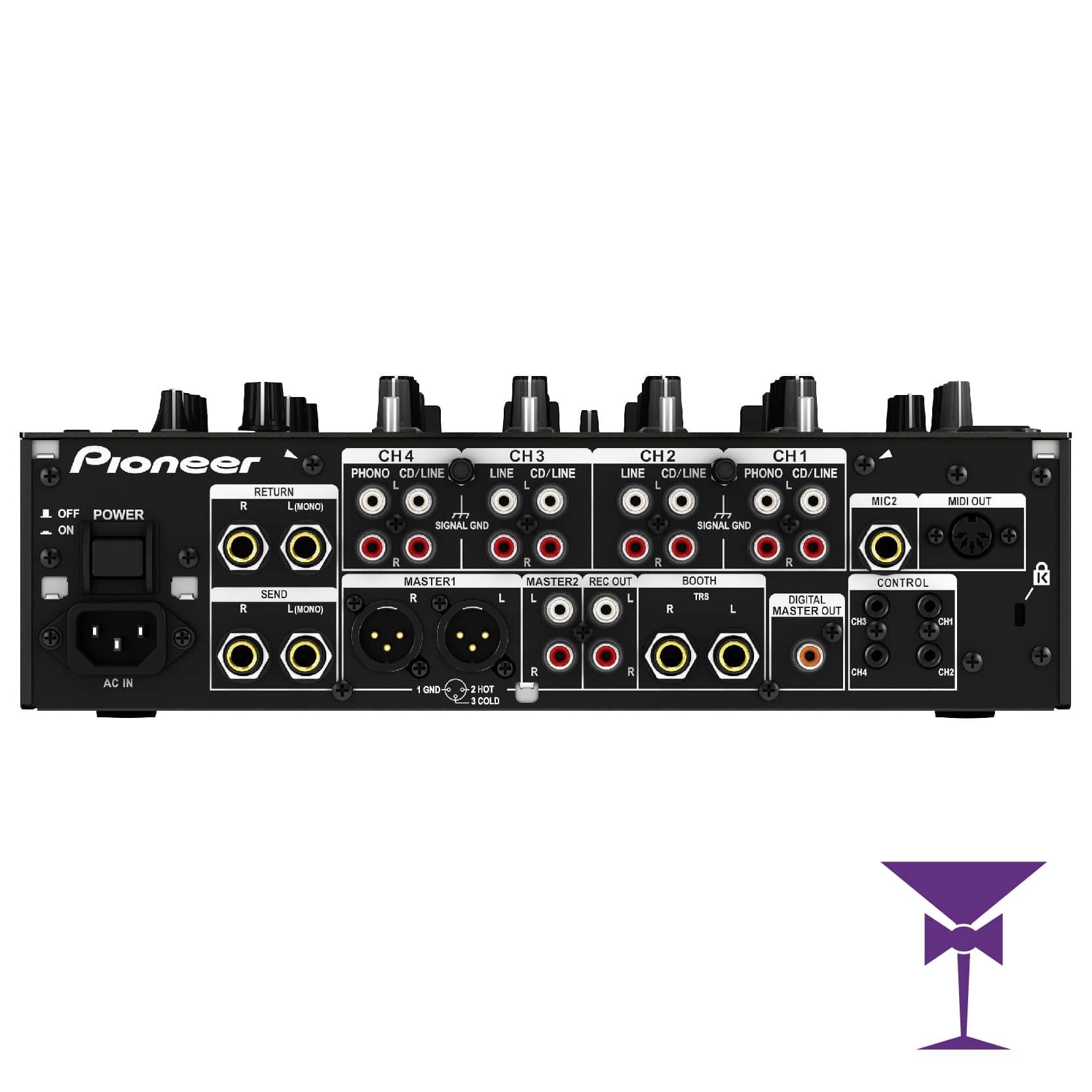 Pioneer Digital DJ Mixer Hire Kent, Surrey & Sussex
