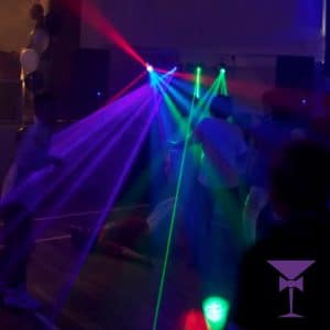 Party lighting for hire in Kent
