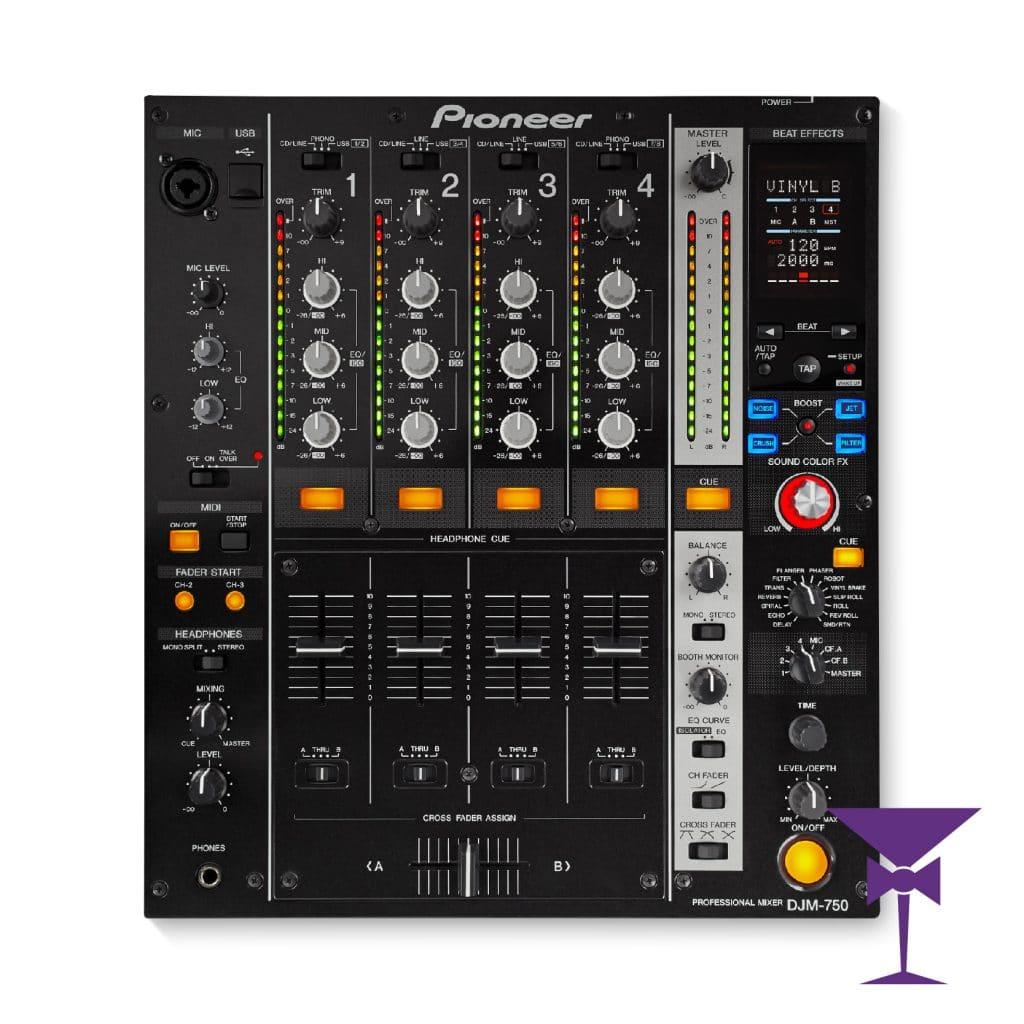 Pioneer DJM 750 Mixer Haire Kent, Surrey, Sussex & London