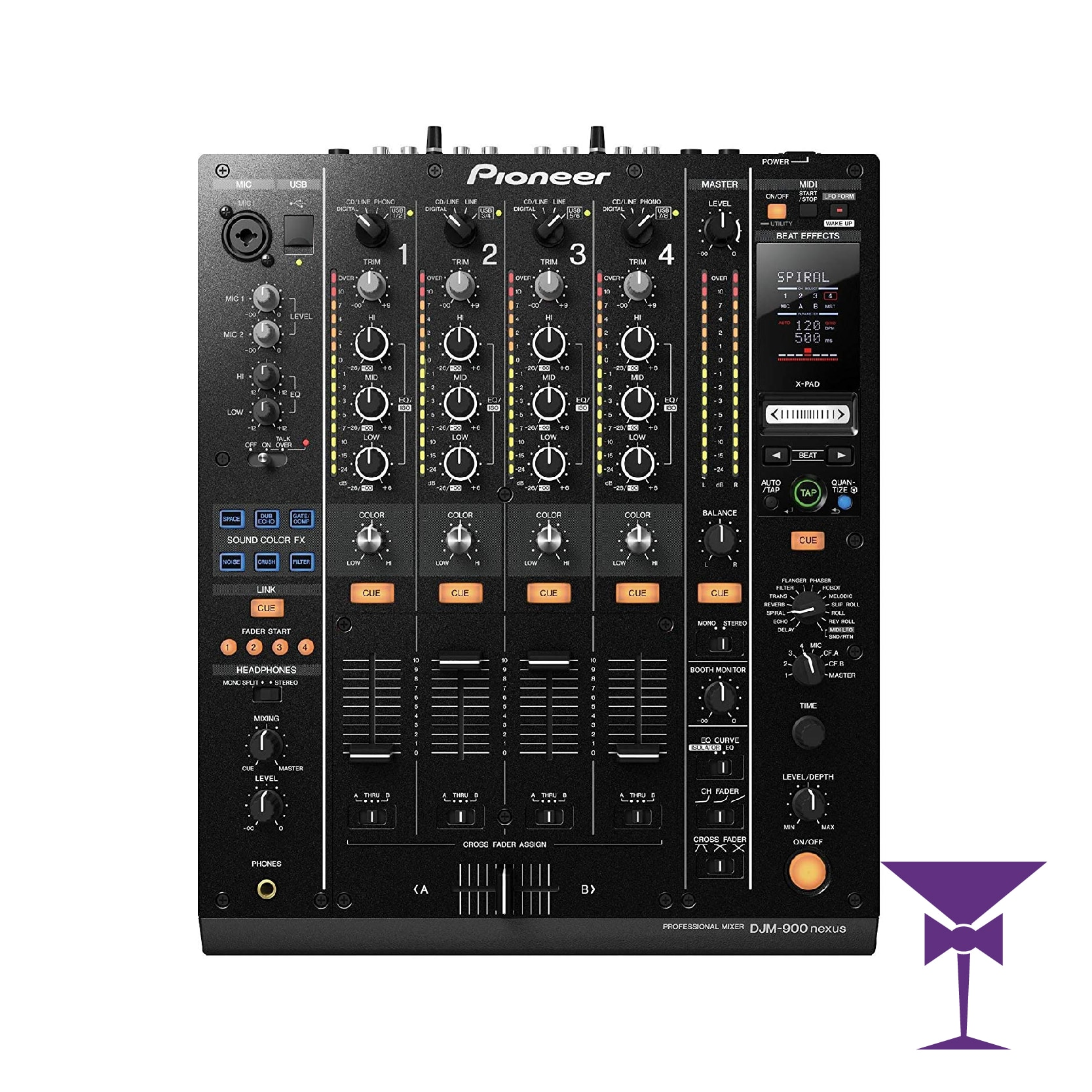 Pioneer DJM 900 Nexus Hire London, Kent, Surrey & Sussex