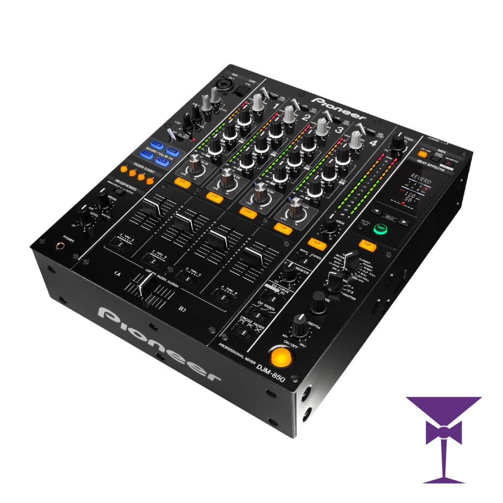 Pioneer 4 Channel Mixer Hire London