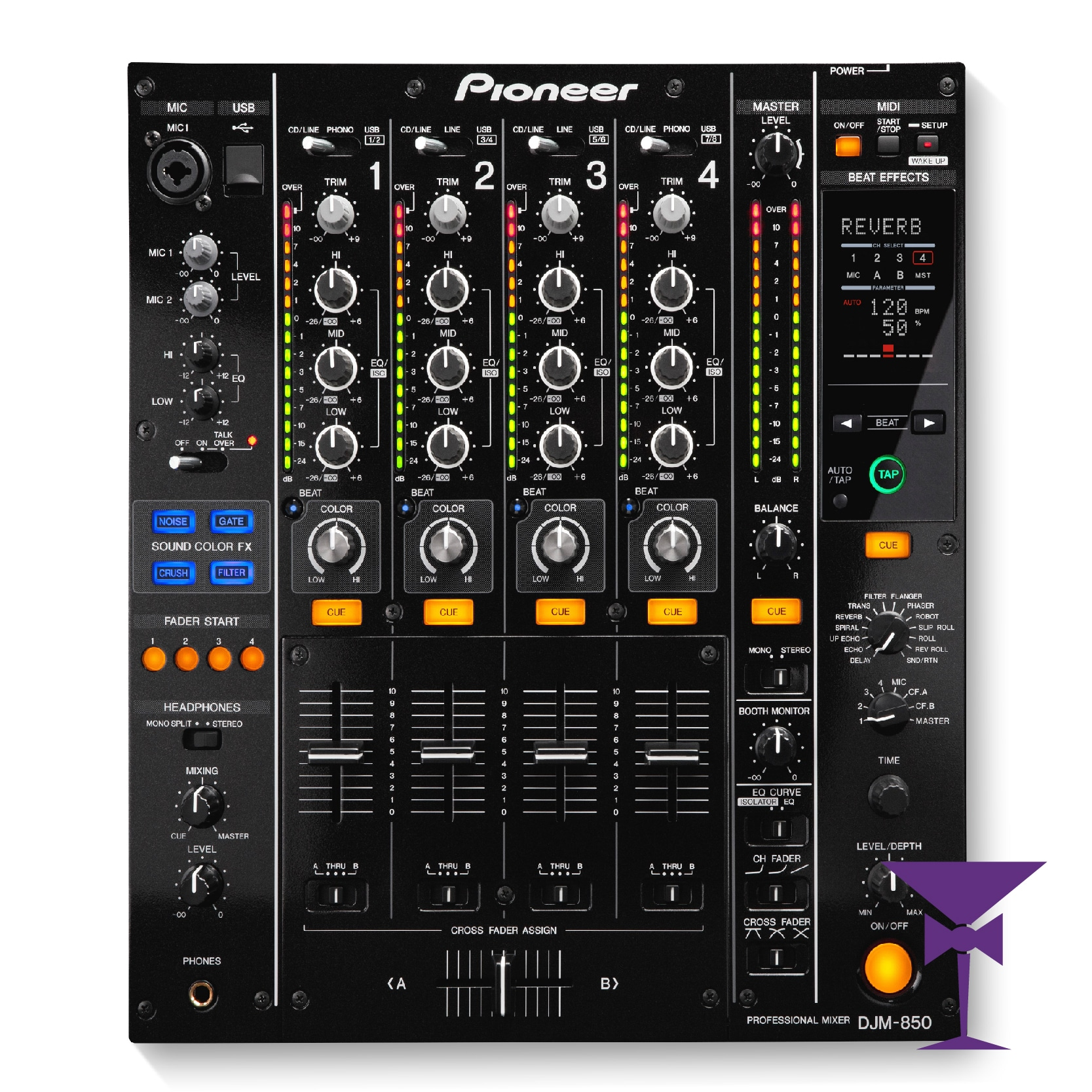Pro DJ Mixer Hire London - Rent DJ Mixer in Kent, Surrey & Sussex.