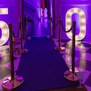 3 Metre Purple Carpet Hire London, Kent, Surrey, Sussex