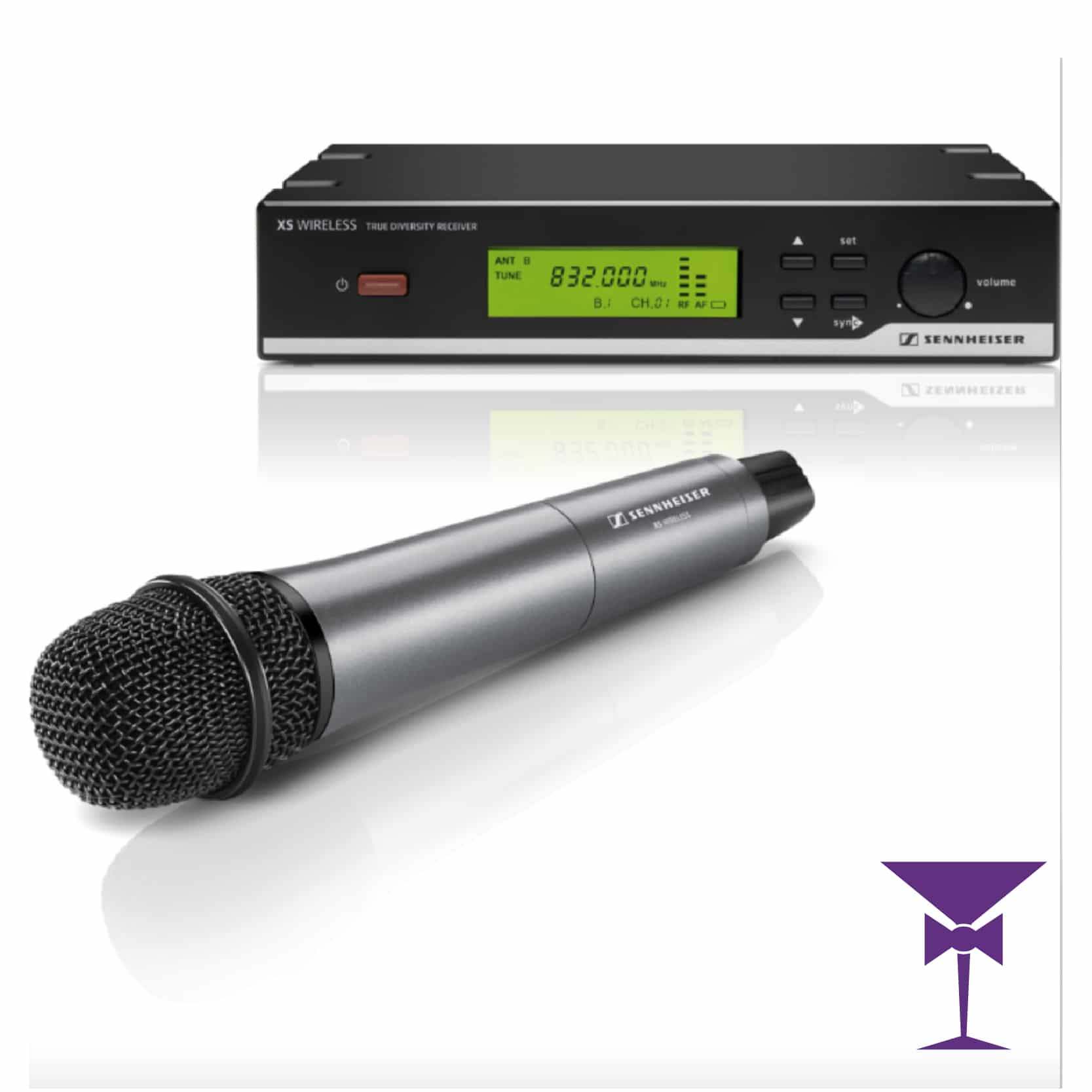 Microphone and wireless receiver hire