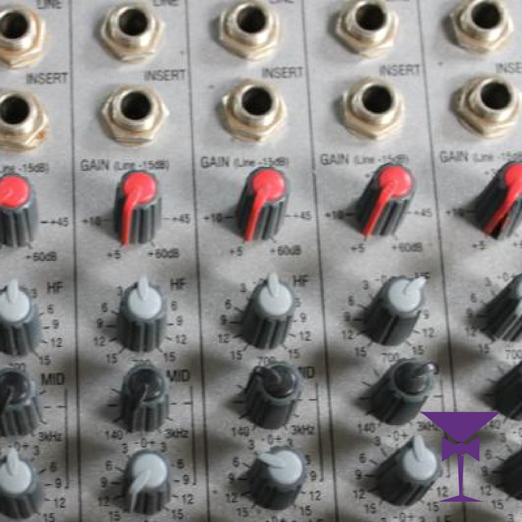 Analogue mixing desks for hire in Surrey, Kent & Sussex