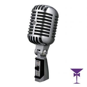 Sure Retro Microphone Hire London, Kent, Surrey & Sussex