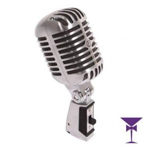 Vintage Microphone Hire London, Kent, Surrey & Sussex