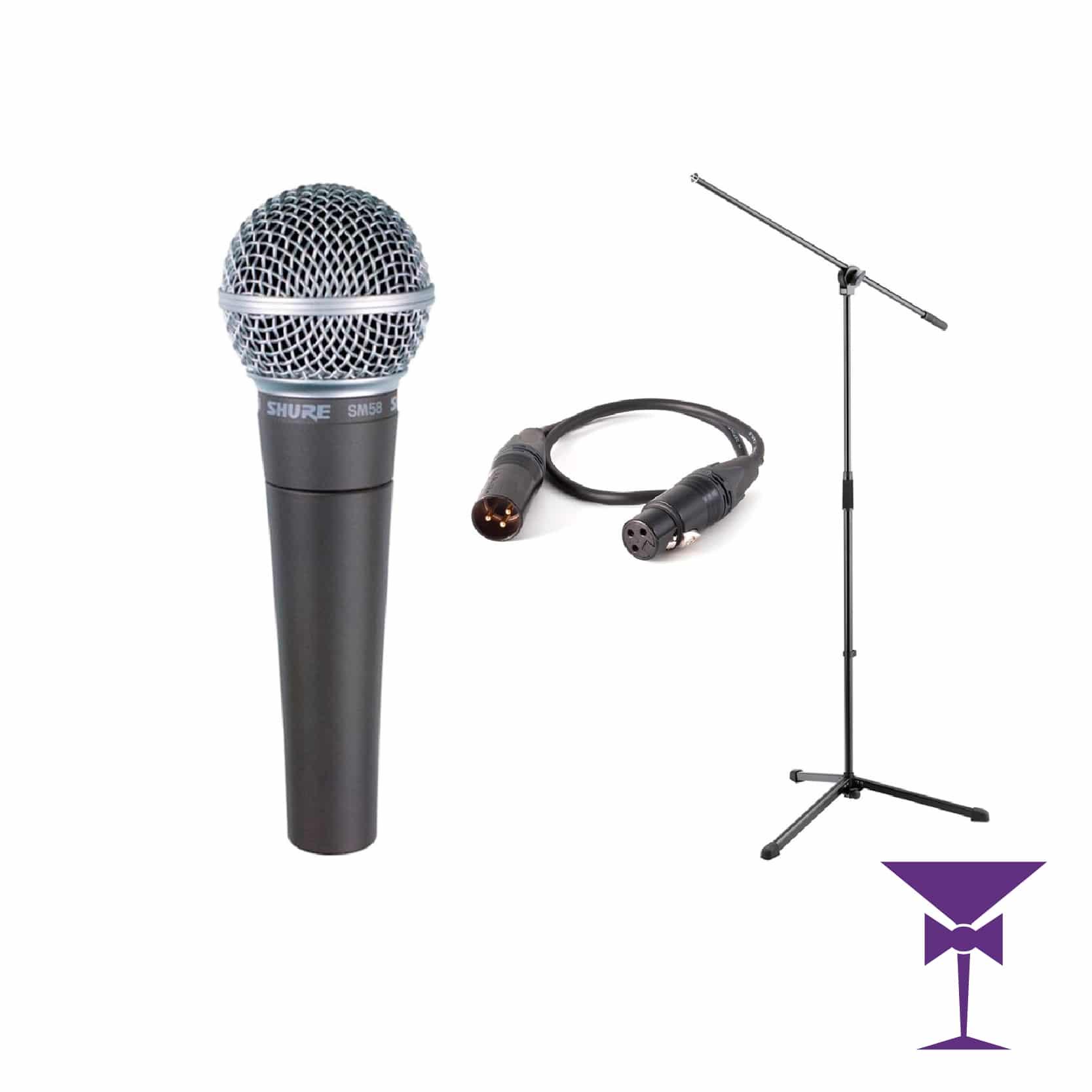 Sure microphone hire London, Kent, Surrey & Sussex