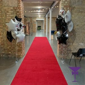 Luxury red carpet hire in West London.