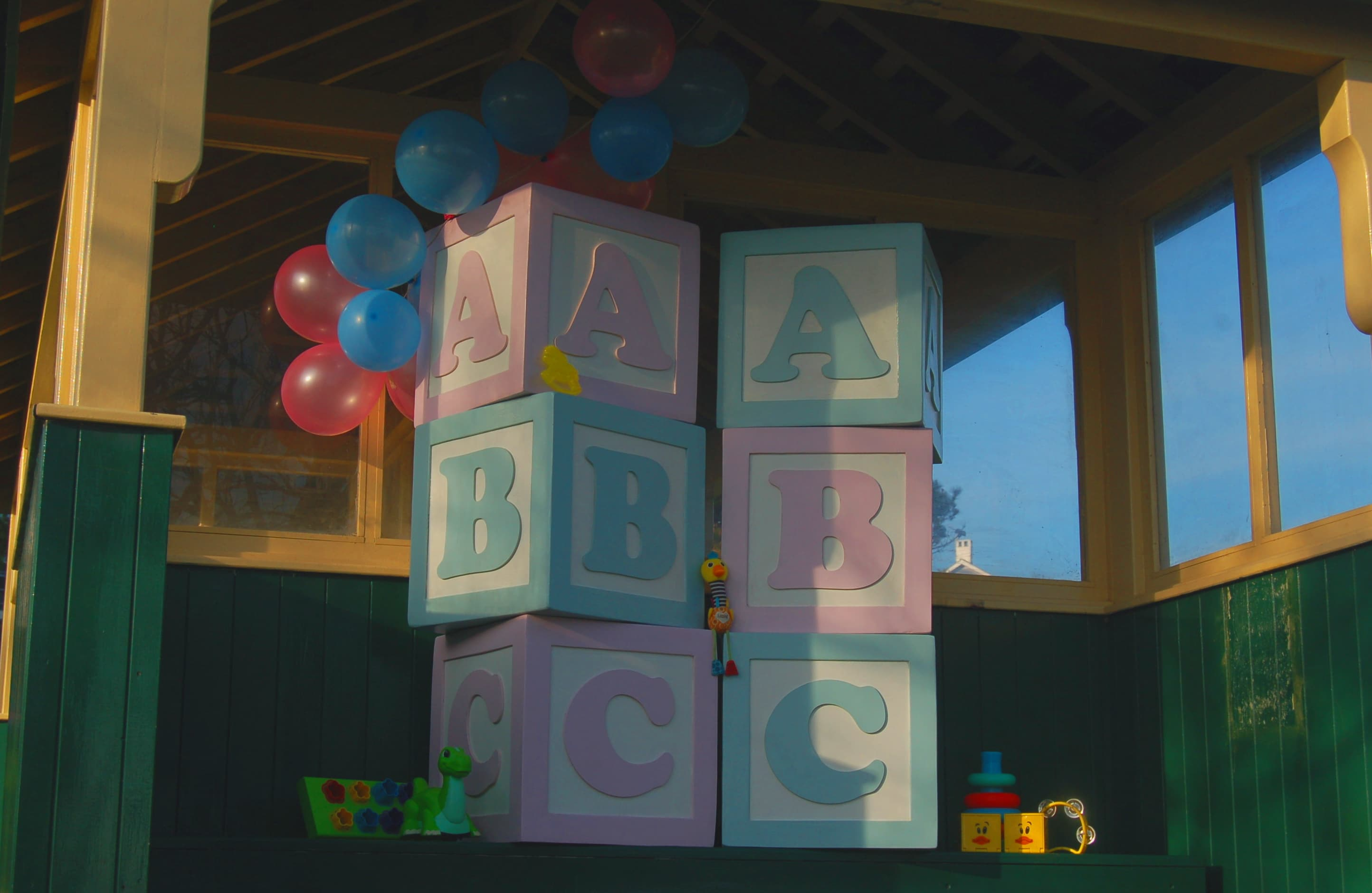 Luxury Baby Blocks For Hire Sussex