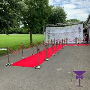 VIP Grand Red Carpet Entrance Surrey